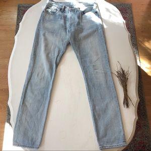 Levi's 501 Original Fit Straight Leg Jeans